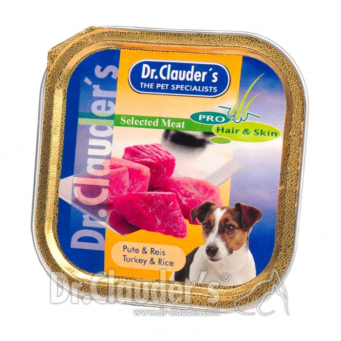 Selected Meat Schälchen Pute & Reis 100g