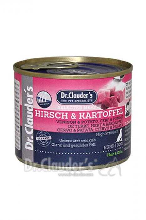 Selected Meat Hirsch & Kartoffel 200g