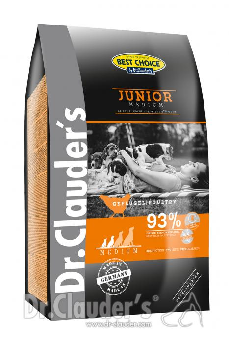 DC Best Choice Junior Medium 4 kg